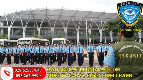 Công ty bảo vệ huyện Bình Chánh Thanh Bình Phú Mỹ