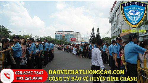 Công ty bảo vệ huyện Bình Chánh uy tín