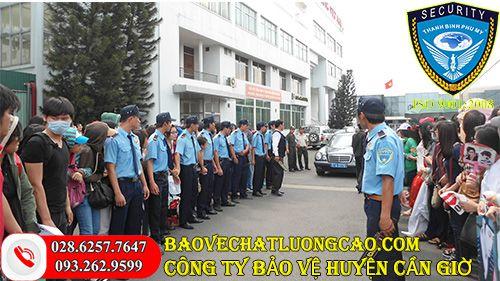 Công ty bảo vệ huyện Cần Giờ Thanh Bình Phú Mỹ