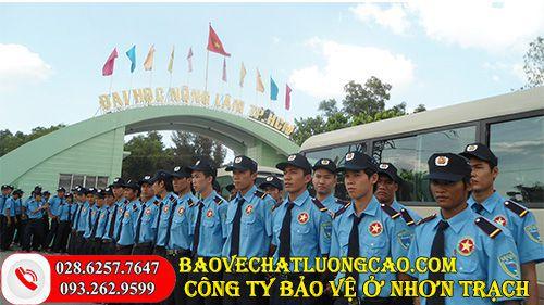 Công ty bảo vệ huyện Nhơn Trạch uy tín với dịch vụ tốt chất lượng