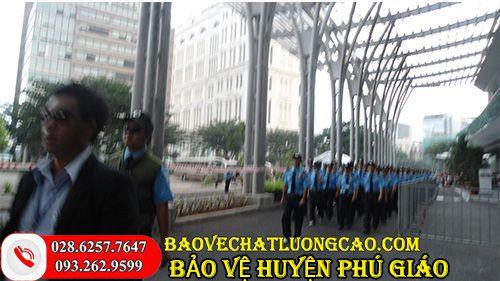 Công ty bảo vệ ở huyện Phú Giáo chuyên nghiệp, uy tín cho khách hàng