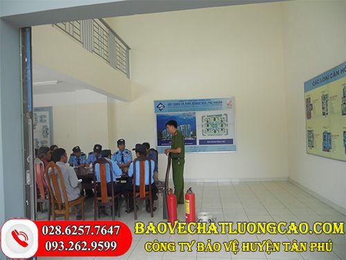 Công ty bảo vệ huyện Tân Phú uy tín dịch vụ giá rẻ và chuyên nghiệp