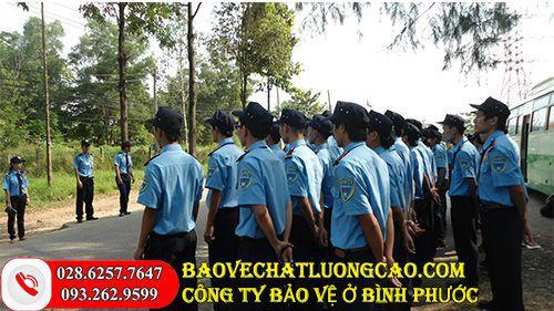 Công ty bảo vệ ở Bình Phước Thanh Bình Phú Mỹ uy tín 24/7
