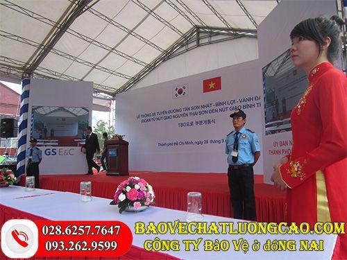 Công ty bảo vệ ở Đồng Nai Thanh Bình Phú Mỹ chuyên nghiệp tốt 24/7