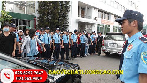 Công ty bảo vệ ở Kiên Giang Thanh Bình Phú Mỹ uy tín 24/7