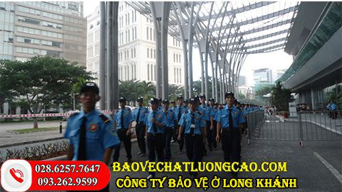 Công ty bảo vệ ở Long Khánh chuyên nghiệp, giá rẻ và uy tín