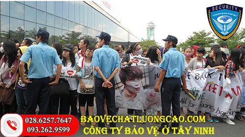 Công ty bảo vệ ở Tây Ninh Thanh Bình Phú Mỹ uy tín 24/7