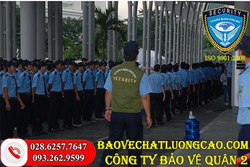 Công ty bảo vệ quận 2 Thanh Bình Phú Mỹ