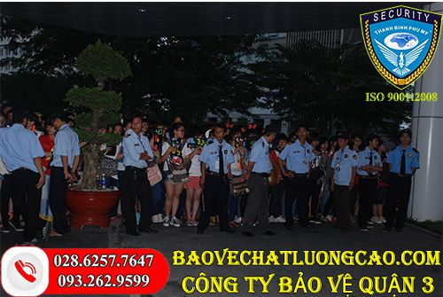 Công ty bảo vệ quận 3 Thanh Bình Phú Mỹ