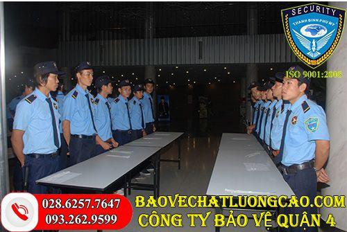 Công ty bảo vệ quận 4 Thanh Bình Phú Mỹ uy tín chuyên nghiệp