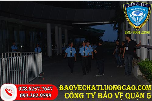 Công ty bảo vệ quận 5 Thanh Bình Phú Mỹ