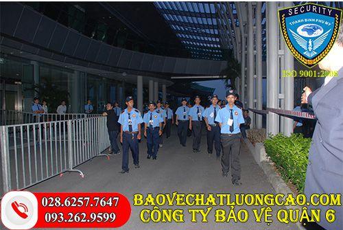 Công ty bảo vệ quận 6 Thanh Bình Phú Mỹ