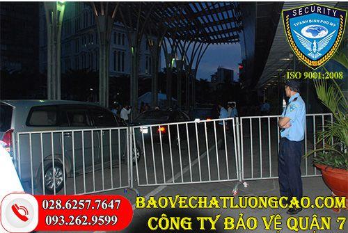 Công ty bảo vệ quận 7 Thanh Bình Phú Mỹ chất lượng làm việc 24/7