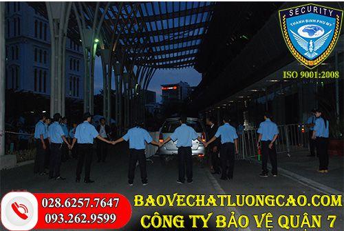 Công ty bảo vệ quận 7 Thanh Bình Phú Mỹ uy tín dịch vụ tốt