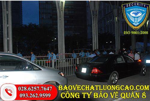 Công ty bảo vệ quận 8 Thanh Bình Phú Mỹ chuyên nghiệp 24/7