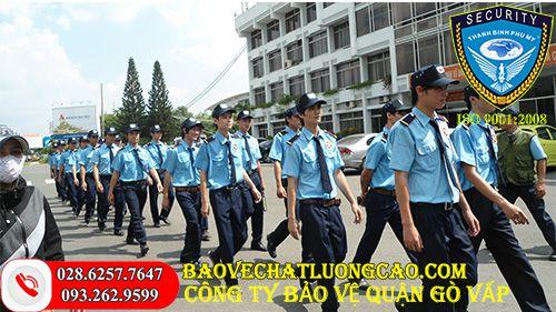 Công ty bảo vệ quận Gò Vấp Thanh Bình Phú Mỹ tốt, uy tín 24/7
