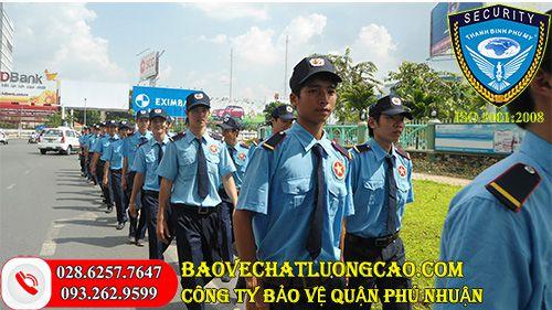 Công ty bảo vệ quận Phú Nhuận Thanh Bình Phú Mỹ tốt nhất 24/7