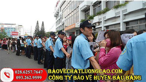Công ty bảo vệ ở huyện Bàu Bàng chất lượng dịch vụ tốt nhất