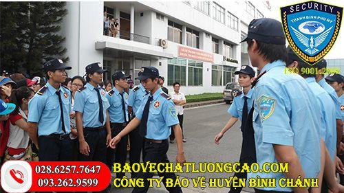 Dịch vụ bảo vệ huyện Bình Chánh Thanh Bình Phú Mỹ