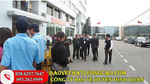 Công ty bảo vệ huyện Định Quán hiệu quả, chất lượng 24/7