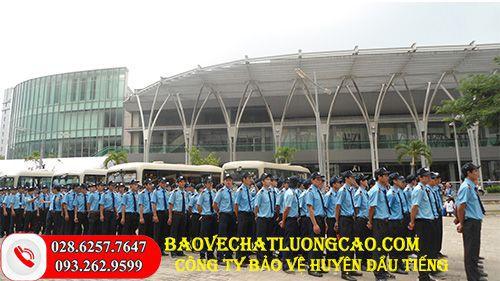 Công ty bảo vệ ở huyện Dầu Tiếng nổi bật, dịch vụ uy tín hàng đầu