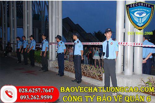 Dịch vụ bảo vệ quận 6 Thanh Bình Phú Mỹ