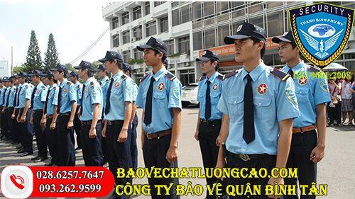 Dịch vụ bảo vệ quận Bình Tân uy tín phải đảm bảo điều gì
