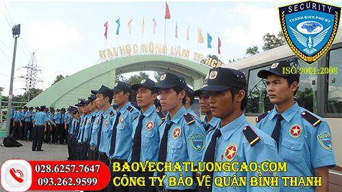 Dịch vụ bảo vệ quận Bình Thạnh Thanh Bình Phú Mỹ tốt nhất