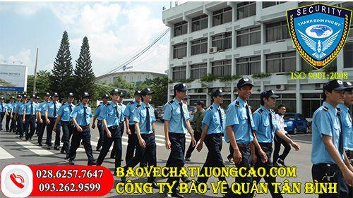 Dịch vụ bảo vệ quận Tân Bình Thanh Bình Phú Mỹ