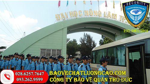 Dịch vụ bảo vệ quận Thủ Đức Thanh Bình Phú Mỹ