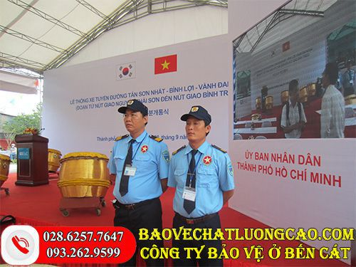 Công ty bảo vệ ở Bến Cát Thanh Bình Phú Mỹ chuyên nghiệp 24/7