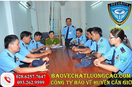 Thuê bảo vệ huyện Cần Giờ giá rẻ
