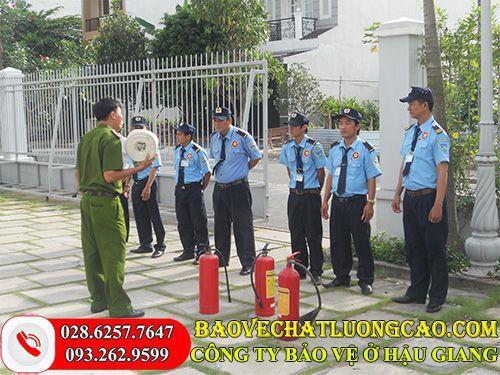 Công ty bảo vệ ở Hậu Giang Thanh Bình Phú Mỹ uy tín 24/7