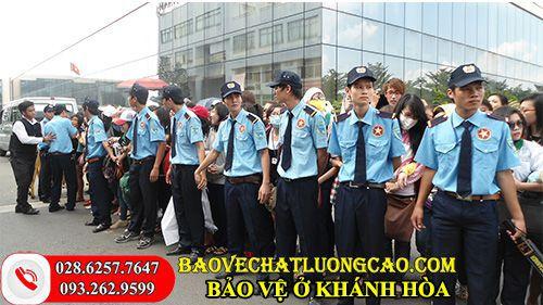 Công ty bảo vệ ở Khánh Hòa Thanh Bình Phú Mỹ uy tín 24/7