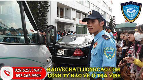 Công ty bảo vệ ở Trà Vinh Thanh Bình Phú Mỹ uy tín 24/7
