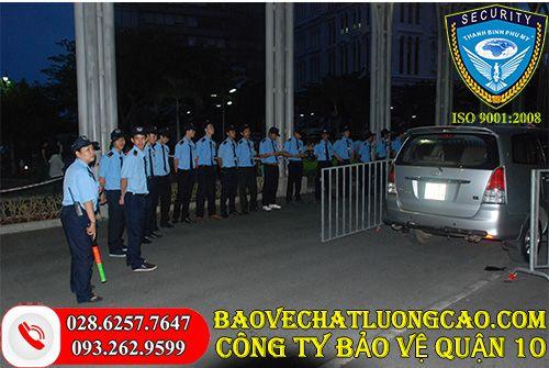 Thuê bảo vệ quận 10 nên chọn Thanh Bình Phú Mỹ