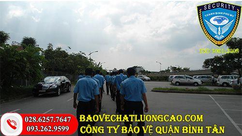 Thuê dịch vụ bảo vệ quận Bình Tân của Thanh Bình Phú Mỹ