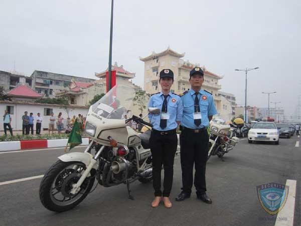 Bảo vệ lễ thông xe tuyến đường Tân Sơn Nhất - Bình Lợi - Vành Đai Ngoài