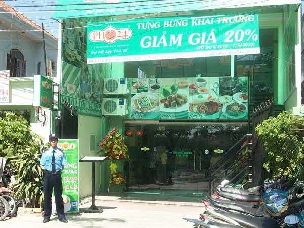 Triển khai bảo vệ tại hệ thống cửa hàng PHỞ 24